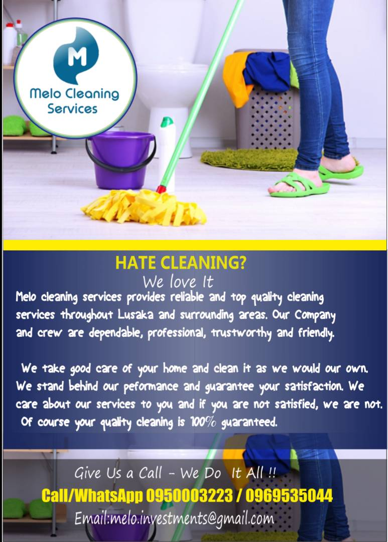 MELO CLEANING SERVICES;