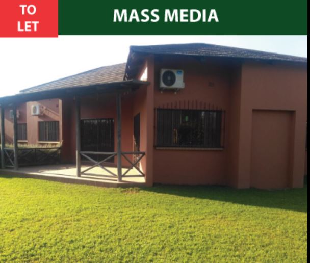 Nice 3 Bedroom House For Rent: FOR RENT -NICE 3 BEDROOM HOUSE IN MASS MEDIA, LUSAKA